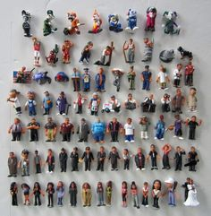 Homies clowns Action Figures 6 Pièce De Collection Set-par Homieshop