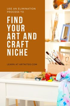 You can find the art and craft niche that suits you by undertaking a process of elimination.Think about what you've got in your stash.  Is it still interesting to you?  Get organised and find the art and craft medium you should be using now.  Read the post at Artnitso.com.