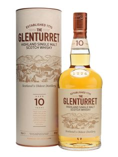 The replacement for the old 12yo as the distillery's standard bottling, Glenturret 10yo has a deliciously rich, fruity character.  You can see why Famous Grouse is so successful with Glenturret as ...