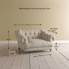 Love Seat Bagsie Love Seat in rosewood vintage linen - Armchairs | Loaf £1595