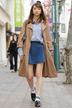 봄에 어울리는 해외 여자 스트릿 패션 - 도쿄 시부야편