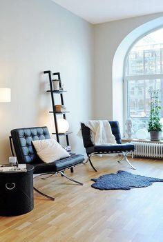 Mies van der Rohe Barcelona Chair black