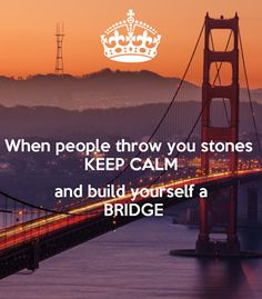 Elena - Life Coaching for SUCCESS:  When people (or life) throw you stones.....KEEP C...