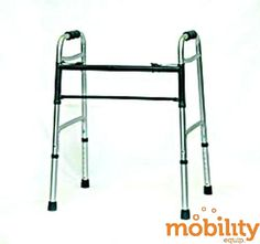 Professional Medical Imports - 1090 - Bariatric 2 Button Walker 500Lb