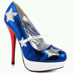 Sexy Independence Day Shoes