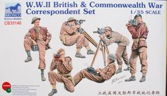 British and Commonwealth War Correspondents in 1/35... By Robin Buckland  ...the newly release figure set from Bronco