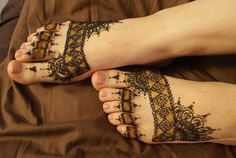 Intricate Henna Tattoo Designs