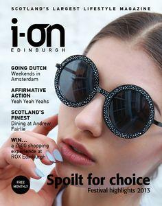 i-on Edinburgh: July 2015. Spoilt for choice