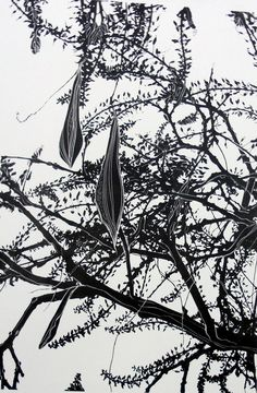 "Ruth McDonald ‏@ RuthMcDonald1  Oct 23 ""Wisteria at Mnt Ephraim"" a one colour silk screen print #printoctober"