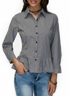 Shop Womens Fashion Tops, Blouses, T Shirts, Knitwear Online Old T Shirts, Beautiful Blouses, Short Tops, Blouse Online, Blouse Styles, Casual Looks, Shirt Blouses, Blouses For Women, Fashion Blouses