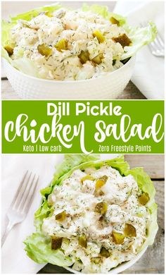 Be sure to CLICK the photo for FULL recipe Dill Pickle Chicken Salad- 5 Minutes to Perfection Keto LC Freestyle keto lowcarb chickensalad recipes lunch weightwatchers freestyle Best Gluten Free Recipes, Low Carb Recipes, Diet Recipes, Healthy Recipes, Healthy Nutrition, Easy Recipes, Radish Recipes, Nutrition Chart, Cooking Recipes