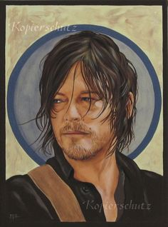 Daryl Dixon - Burning Heart by Pinselratte.deviantart.com on @DeviantArt