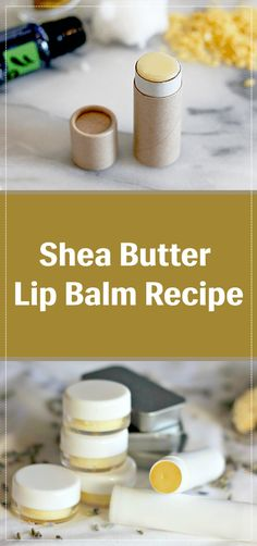 Shea Butter Lip Balm Recipe Probably you have heard benefits of shea butter. So, here I will give you an amazing homemade shea butter lip balm recipe. With this super cool recipe, you will start to experience the benefits of this natural butter. Shea Butter Shampoo, Shea Butter Lip Balm, Body Butter, Diy Moisturizer, Lip Balm Recipes, Soap Recipes, Doterra Recipes, Lip Scrub Homemade, Diy Lip Balm