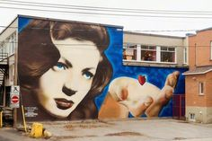 All it takes is a little heart in Montreal, Canada by OMEN (Photo by Olivier Bousquet)