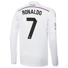 Adidas RONALDO  7 Real Madrid Home Jersey 2014 15 Long Sleeve (S) 8fbdd1d732362
