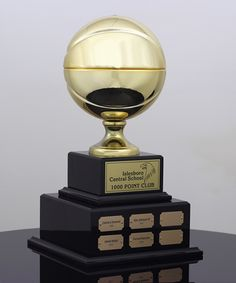 Basketball Hall Of Fame Trophy Trophies Corporate