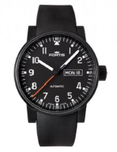 Fortis Watch Cosmonautis Spacematic Pilot Professional #bezel-fixed #bracelet-strap-rubber #brand-fortis #case-material-black-pvd #case-width-40mm #date-yes #day-yes #delivery-timescale-1-2-weeks #dial-colour-black #gender-mens #luxury #movement-automatic #style-dress #subcat-cosmonautis #supplier-model-no-623-18-71-k #swiss-fortis #warranty-fortis-official-2-year-guarantee #water-resistant-100m