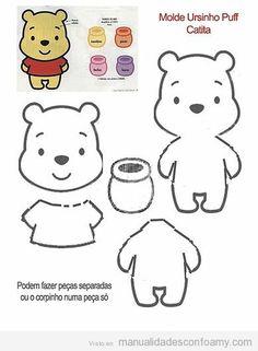 Molde Winnie Pooh