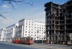 Tramwaje w Warszawie, Warszawa - 1959 rok, stare zdjęcia
