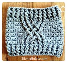 Ravelry: Three Cabled Boot Cuffs pattern by Stitched In Love Crocheting Using three different cable stitches and an optional decorative strap and button, a total of six different boot cuffs can be created with this pattern! Crochet Cable, Crochet Boots, Crochet Gloves, Crochet Slippers, Love Crochet, Bead Crochet, Crochet Headbands, Knit Headband, Baby Headbands