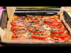 Plăcintă cu brânză și roșii - YouTube Mozzarella, Youtube, Youtubers, Youtube Movies