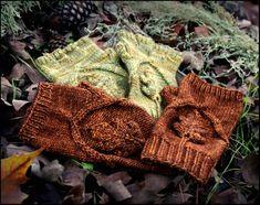 Oak Grove Mittens from Never not Knitting