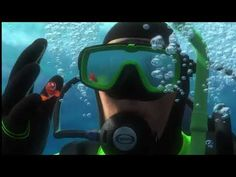Finding Nemo - Nemo Gets Captured - YouTube Finding Nemo 2003, Angler Fish, Great Barrier Reef, Fish Tank, Animation, Google Play, Movie, Education, Youtube