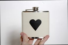 Heart flask! Yes!
