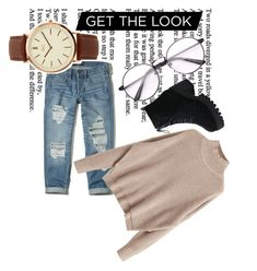 """""""Everyday casual look"""" by agaduchnicz-1 on Polyvore featuring Hollister Co. and BKE"""