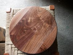 12 inch Lazy Susan by TG Designs. TG Designs is owned by Tina and Gene King. Wood is in our blood. For generations both of our families were connected to woodworking, crafting and carpentry. Although we started in different directions, Gene a military carrier and Tina as a musician and teacher, We have drawn on our family history and now are following in the family traditions. Our goal is to revive the craftsmanship of the past and give it new life for today's generations.