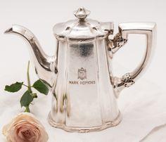 Vintage Mark Hopkins Hotel, S.F. Teapot