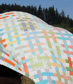 An August Quilt Top from Cluck Cluck Sew