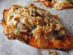 Stuffed Sweet Potatoes  @Jackie Gregory Living Healthy