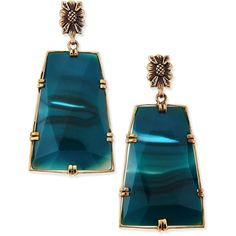 See this and similar Stephen Dweck earrings - Stephen Dweck. Blue Agate Trapezoid Earrings. Bronze. Faceted trapezoidal blue agate drops. Signature Stephen Dwec...