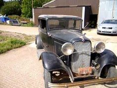 Genuine original old 32 Ford barnfind first run out after some engine tinkering!. Stored since the sixties in North Dakota. Does have a 1940 type replacement...