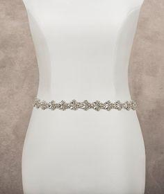 Cinturón para vesitdo de novia de pedrería