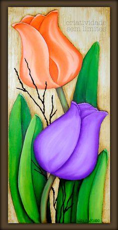 47 Super Ideas For Watercolor Art Flowers Painting Techniques Easy Flower Painting, Tulip Painting, Fabric Painting, Painting & Drawing, Flower Art, Art Flowers, Acrylic Painting Techniques, Acrylic Painting Canvas, Canvas Art Quotes