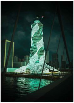 Palm tree tower by TRI Architectural Studio | Ali Eskandar. #egypt #skyscraper #архитектура www.amazingarchitecture.com ✔ www.facebook.com/amazingskyscraper A collection of the best contemporary architecture to inspire you. #design #architecture #picoftheday #amazingarchitecture #style #nofilter #architect #arquitectura #luxury #concept #life #cute #architettura #interiordesign #photooftheday #love #travel #instagood #fashion #beautiful #archilovers #architecturephotography #home #hou Contemporary Architecture, Amazing Architecture, Future Buildings, Big Thing, Skyscrapers, Palm Trees, Egypt, Ali, Temple