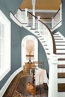 I really like that blue with crisp white....soooo pretty!