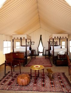 "Sustainable Stays: San Camp an eco-friendly ""lodge"" in the Kalahari Desert, Botswana"