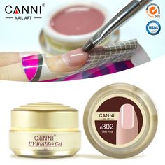 #50951 CANNI Nail Art Beauty Gel 10 Colors Semi Transparent Builder Gel Nail Extension Camouflage UV Jelly Gel