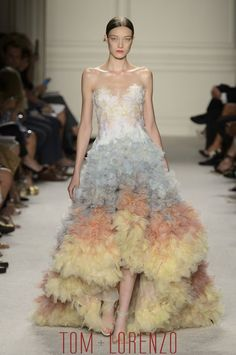 """Marchesa Notte Spring 2016   Marchesa's Spring 2016 Collection """"embodies a botanical menagerie ..."""