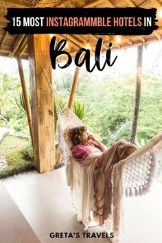 15 Most instagrammable Hotels in Bali. Bali is a stunning travel destination, with lots of beautiful and unique properties you can stay at. If you're searching for the most Instagrammable hotels in Bali, you just found them! Whether it's Airbnbs, villas or resorts, this guide lists all the most Instagram-worthy properties in Bali, Indonesia! #bali #indonesia #asia #balitraveltips #balihotels #baliinstagram Bali Travel Guide, Travel Advice, Asia Travel, Travel Tips, Travel Ideas, Villa, Balinese Decor, Amazing Destinations, Travel Destinations