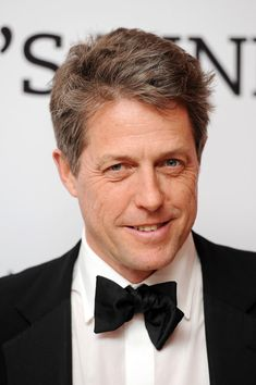 Hugh Grant arrives at the BFI Chairman's Dinner where he was awarded with his BFI Fellowship at The Corinthia Hotel on February 23, 2016 in London, England.