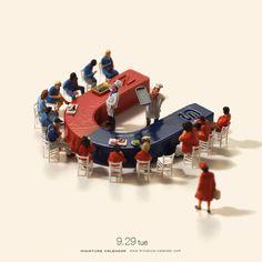 Nouvelles Miniatures quotidiennes de Tatsuya Tanaka (5)