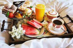 Café da manhã perfeito! ;-)