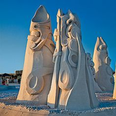 The Art of Sand Castles | Major Changes | CoastalLiving.com not the average type of art.