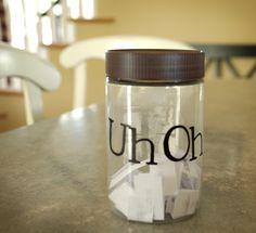 idea, stuff, famili, parent, kids, kiddo, jars, front porches, chore