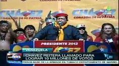 """""""Hasta las piedras gritan que Chávez ganará!"""""""