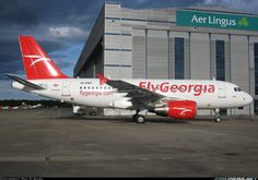 FlyGeorgia EI-EWF Airbus A319-111 aircraft picture